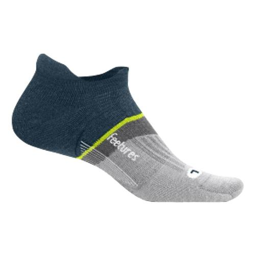 Feetures Merino 10 Cushion No Show Tab Socks Frenchnavy