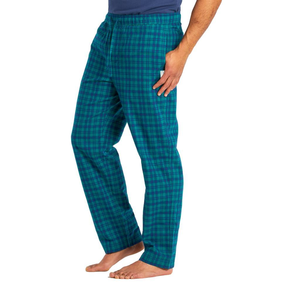 Life is Good Men's Plaid Classic Sleep Pants SPRUCEGREEN