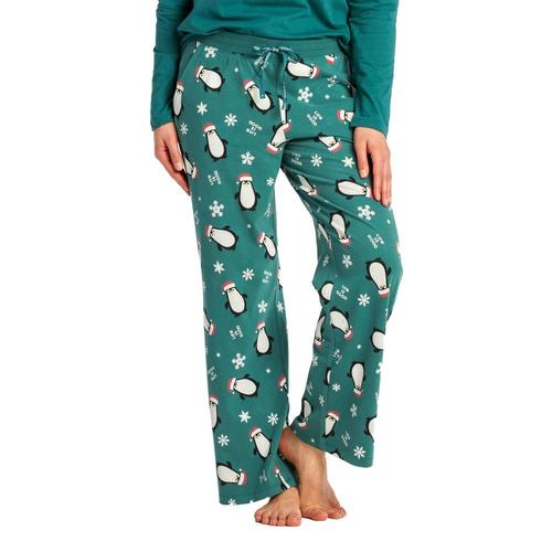Life is Good Women's LIG Together Snuggle Up Sleep Pants Sprucegreen