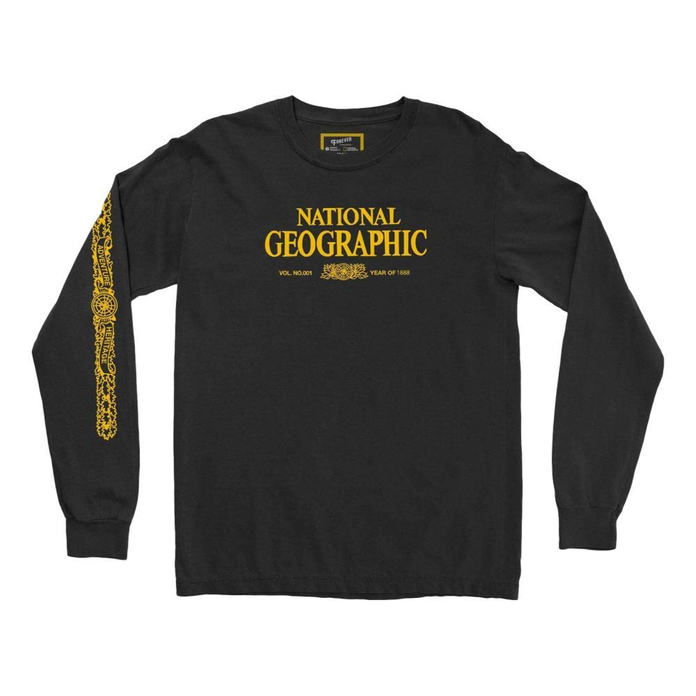 National Geographic x Parks Project Unisex Legacy Long Sleeve Tee BLACK