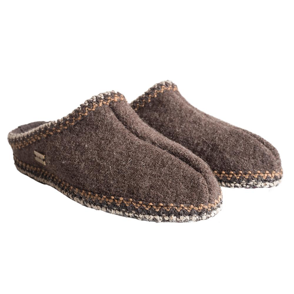 Haflinger Men's AS Slippers SMKBRN_63H