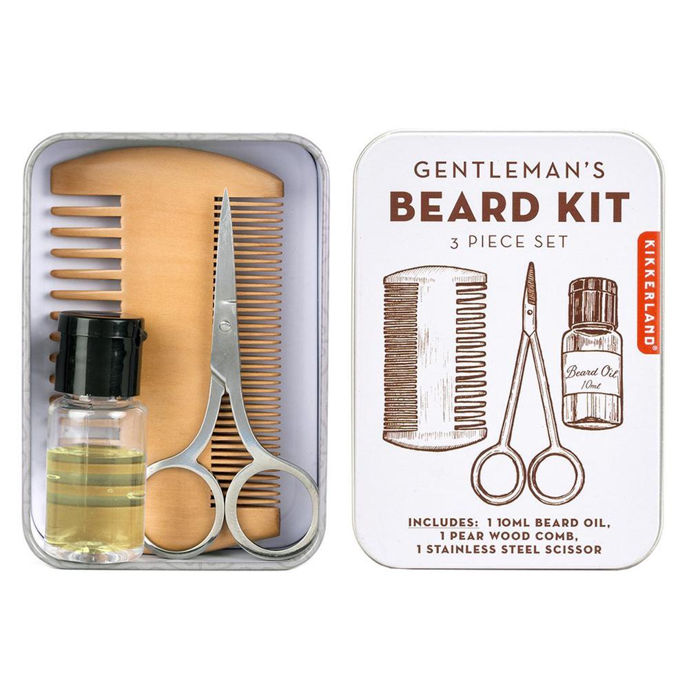 Kikkerland Gentleman's Beard Tin