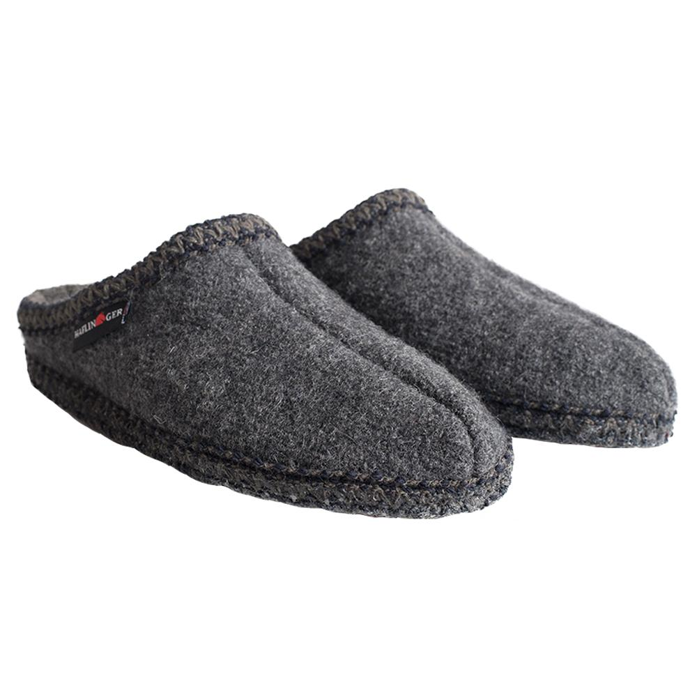 Haflinger Women's AS Slippers GREY_4H