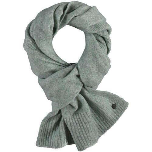 V. Fraas Pastel Melange Knit Scarf Lgreen_700