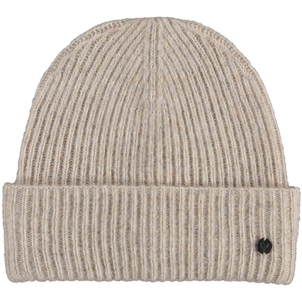 V. Fraas Pastel Melange Knit Hat CREAM_030