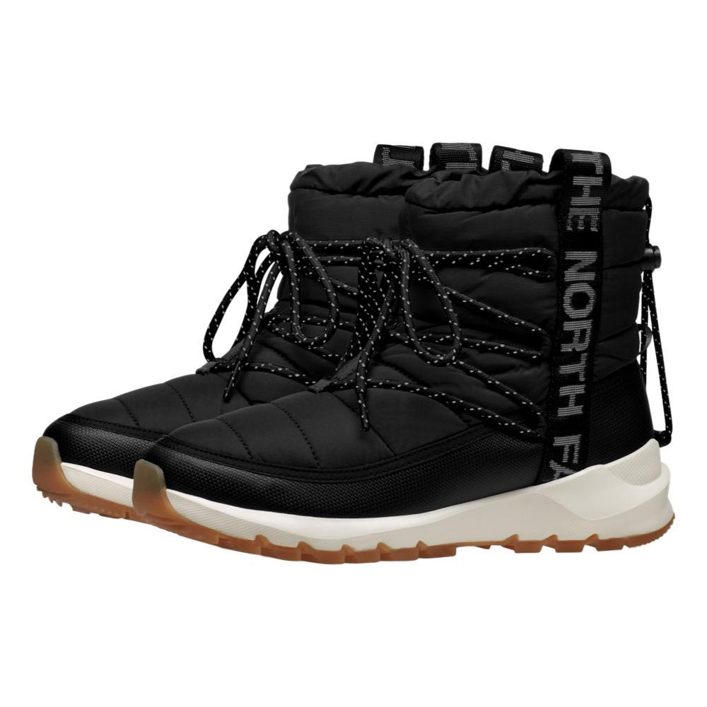 The North Face Women's ThermoBall Lace Up Boots BLK.WHT_VD6