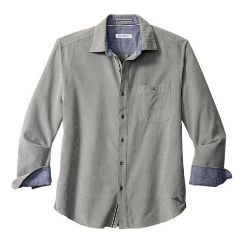Tommy Bahama Men's Coastline Corduroy Sandwash Shirt Soapstone_92