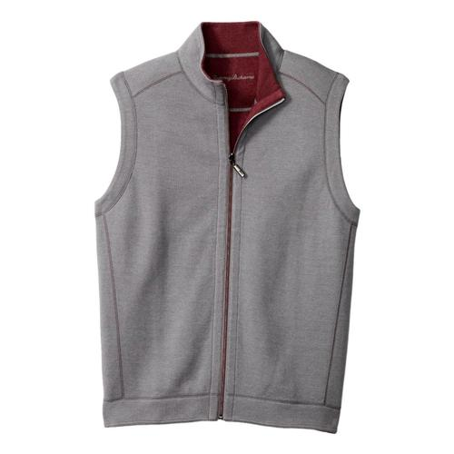 Tommy Bahama Men's Flipshore Full-Zip Vest Stone_4992