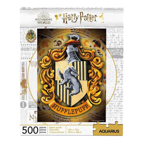 Aquarius Harry Potter Hufflepuff Crest 500 Piece Jigsaw Puzzle