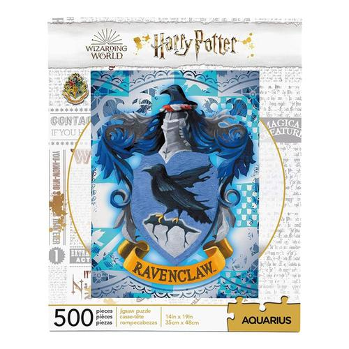 Aquarius Harry Potter Ravenclaw Crest 500 Piece Jigsaw Puzzle