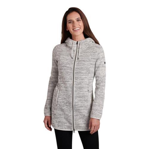KUHL Women's Ascendyr Long Jacket Ash