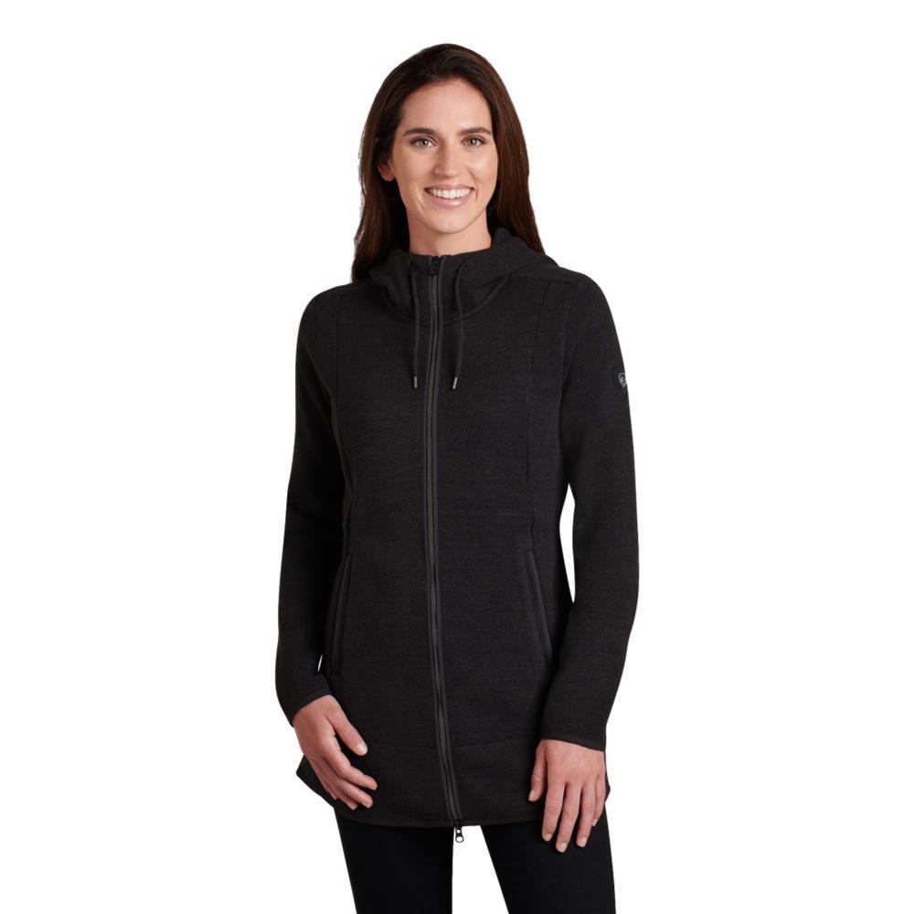 KUHL Women's Ascendyr Long Jacket BLACK
