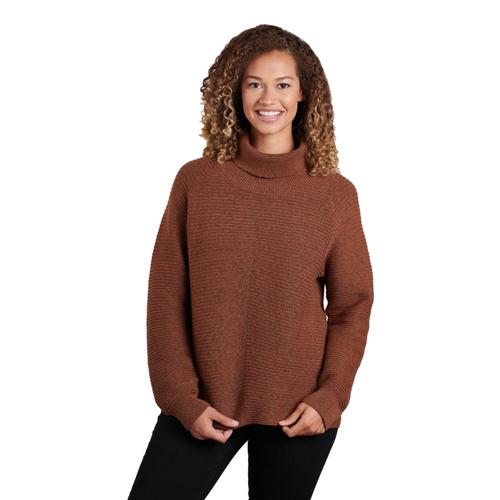 KUHL Women's Solace Sweater Copper
