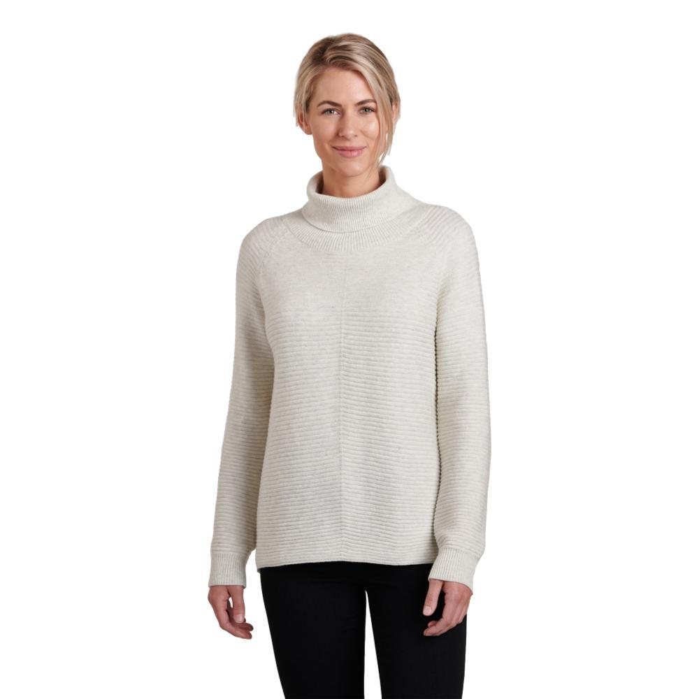 KUHL Women's Solace Sweater NATURAL