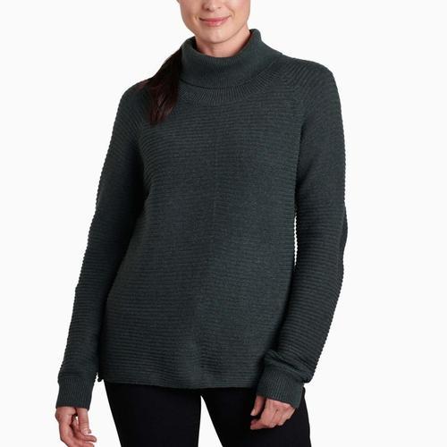 KUHL Women's Solace Sweater Seapin_spn