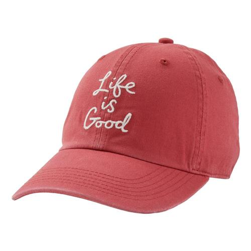 Life is Good LIG Scribble Chill Cap Fadedred