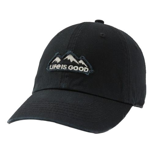 Life is Good LIG Mountains Tattered Chill Cap Jetblack