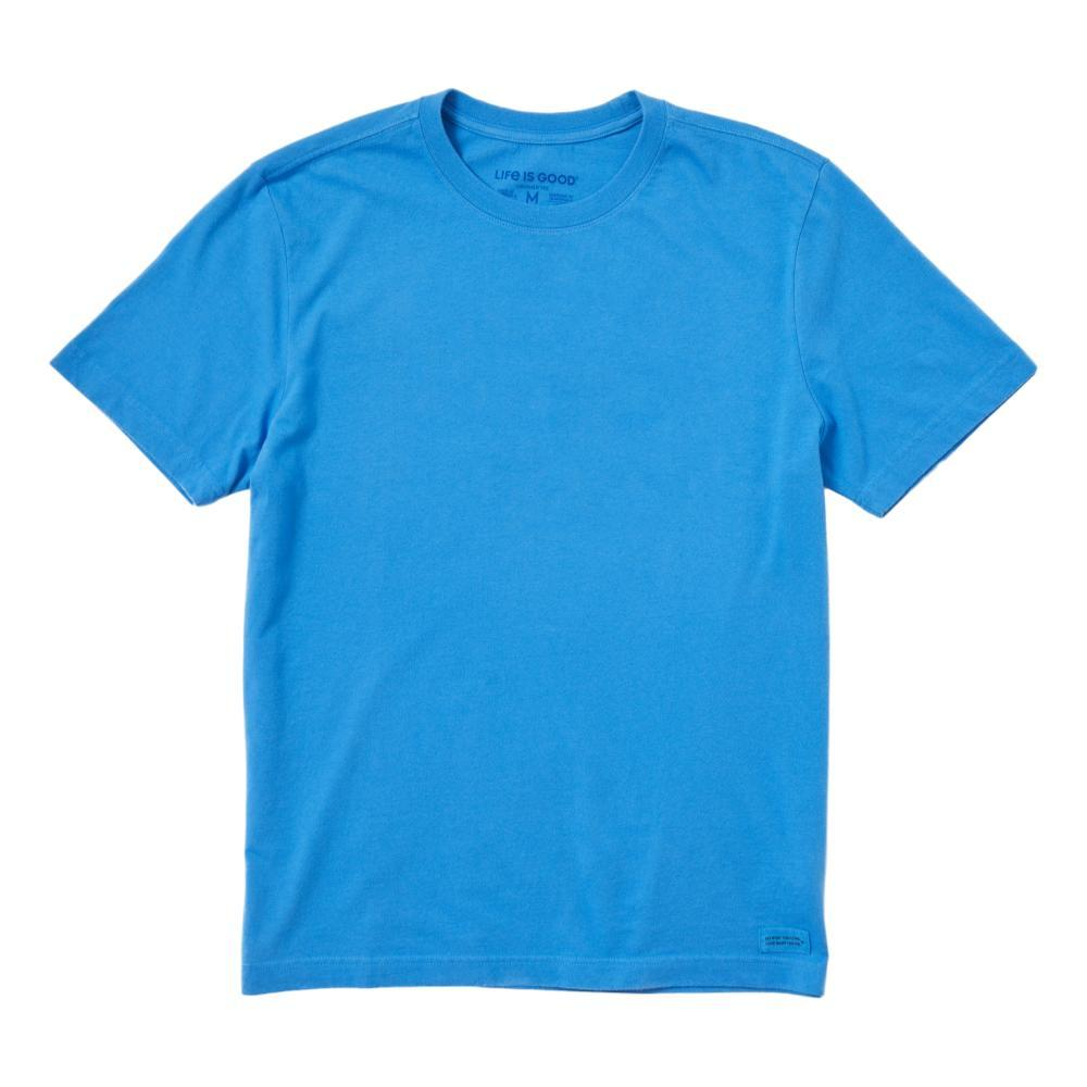 Life is Good Men's Solid Crusher Tee ROYALBLUE