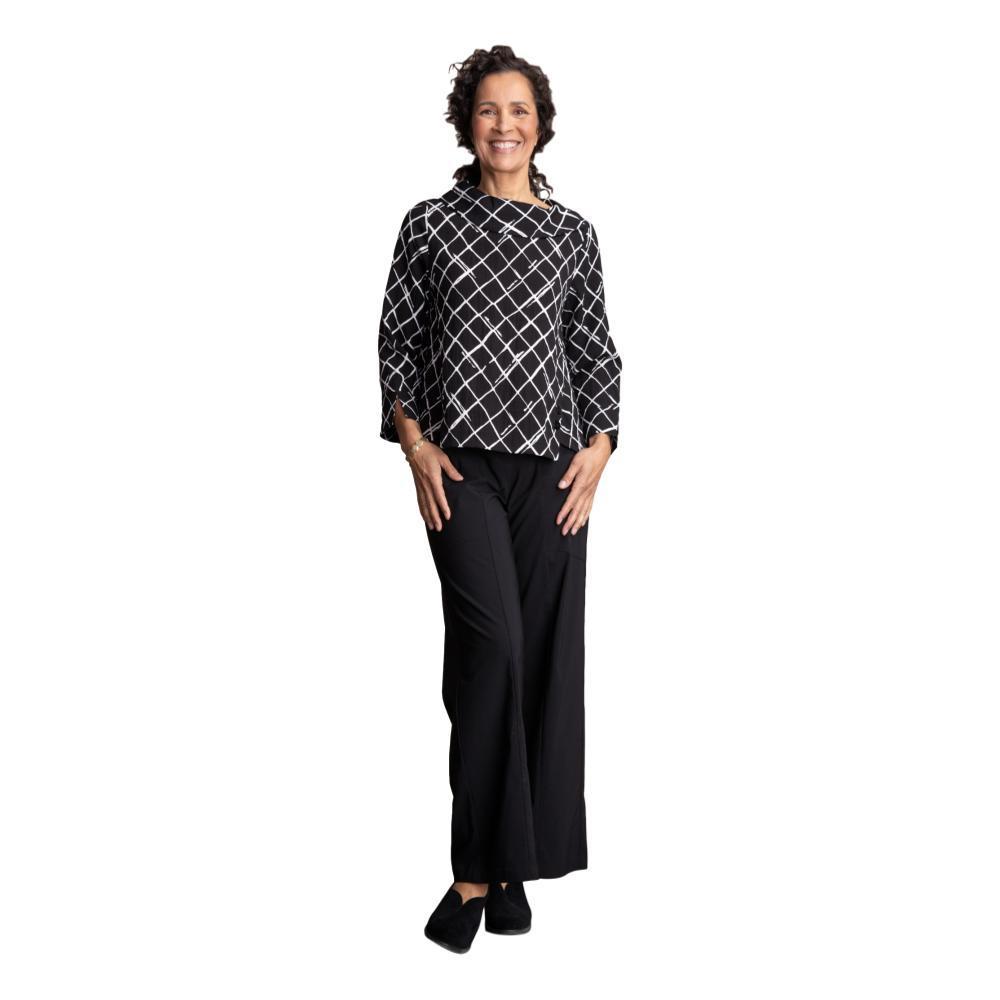 Habitat Women's Express Travel Drape Collar Pullover BLACKDIAMOND