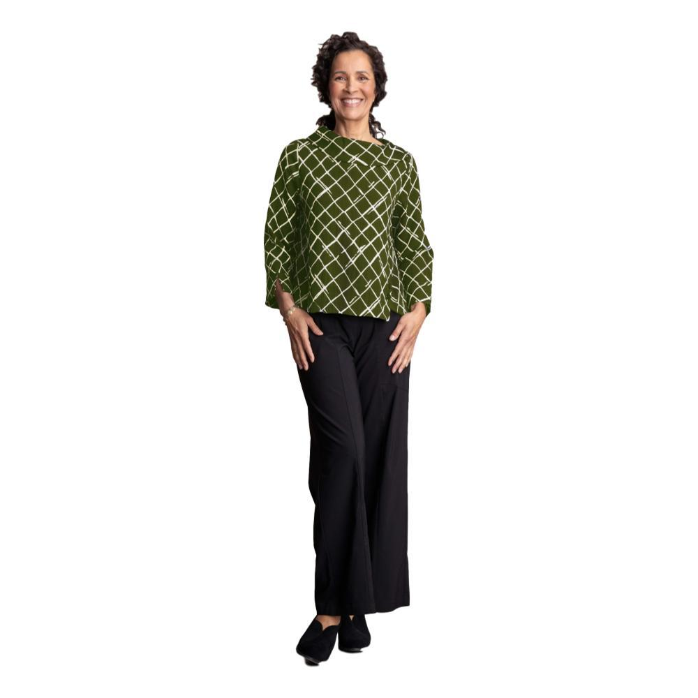 Habitat Women's Express Travel Drape Collar Pullover OLIVEDIAMOND
