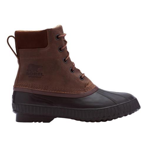 Sorel Men's Cheyanne II Lace Duck Boots Tobc.Blk_259