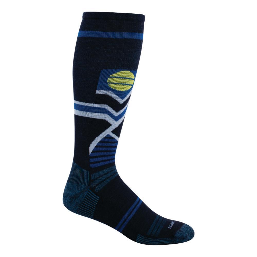 SockWell Men's Snow Peak Moderate Graduated Compression Socks  NAVY_600