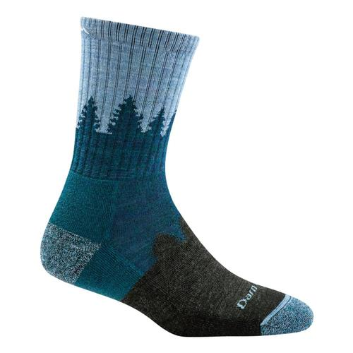 Darn Tough Women's Treeline Micro Crew Cushion Socks Blue