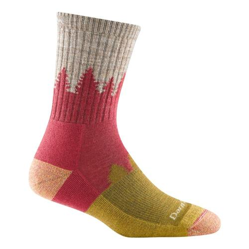 Darn Tough Women's Treeline Micro Crew Cushion Socks Cranberry