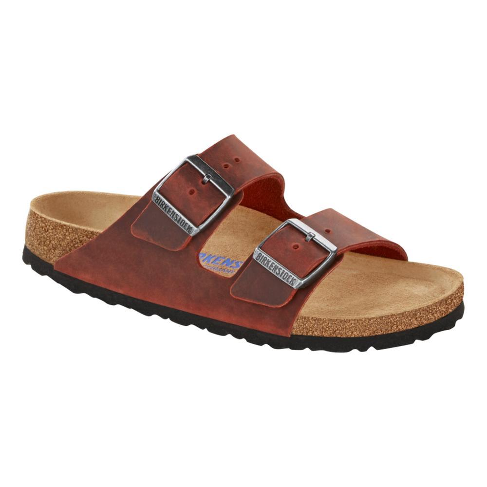 Birkenstock Women's Arizona Soft Footbed Oiled Leather Sandals - Narrow EARED.OL