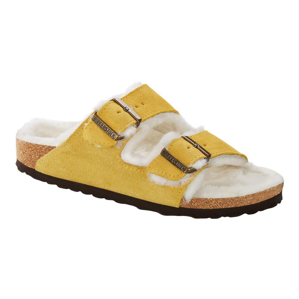Birkenstock Women's Arizona Shearling Sandals - Narrow OCHRBG.SD