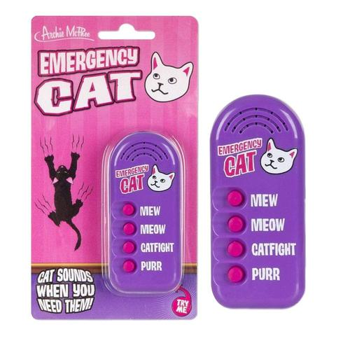 Archie McPhee Emergency Cat Sounds Noisemaker