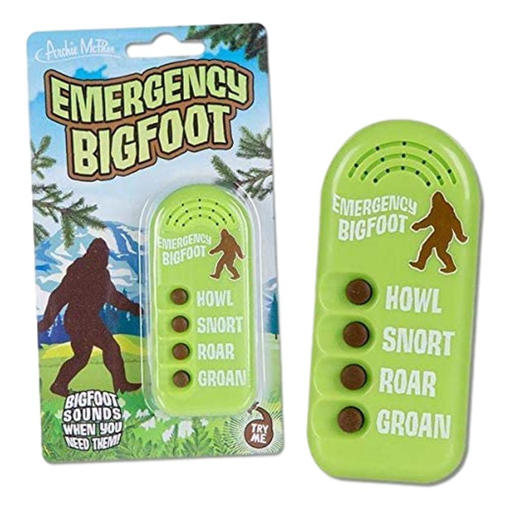 Archie Mcphee Emergency Bigfoot Sounds Noisemaker