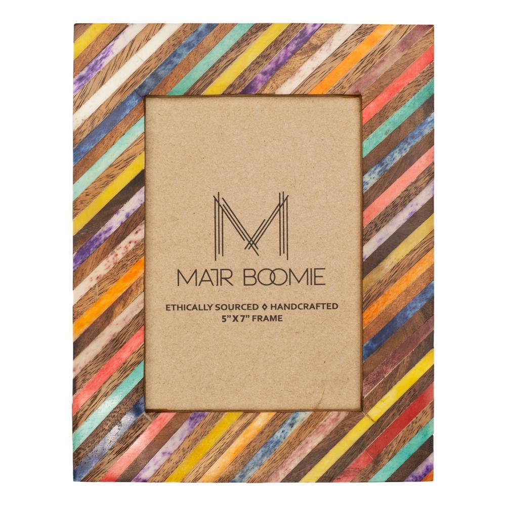 Matr Boomie Banka Mundi Frame - Multicolor 5in X 7in