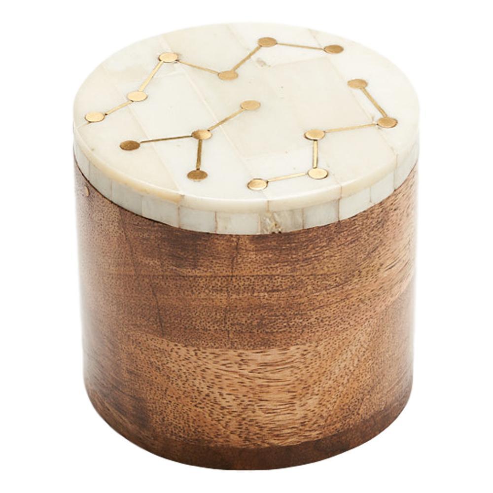 Matr Boomie Jyotisha Keepsake Box - Pearl
