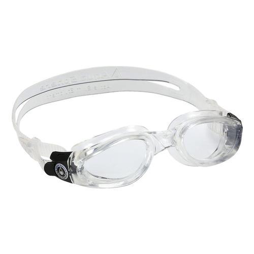 Aqua Sphere Kaiman Swim Goggles Compact - Clear Lens Clear_trnslc