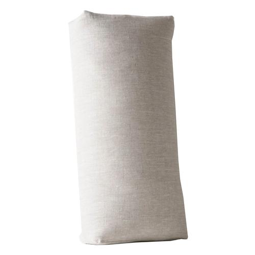 Halfmoon Rectangular Bolster Natural_linen