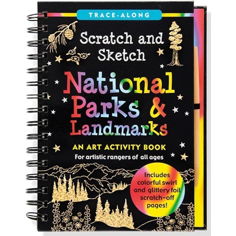 Peter Pauper Press Scratch & Sketch National Parks