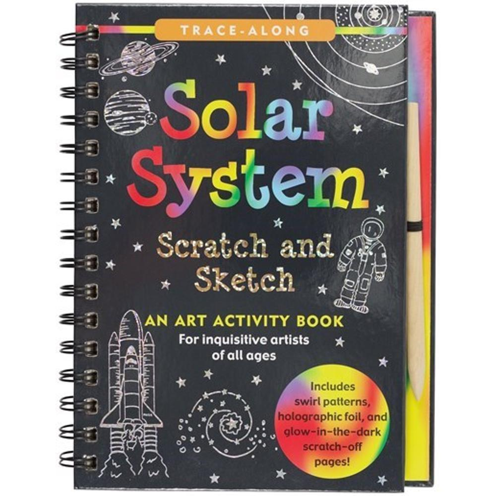 Peter Pauper Press Scratch & Sketch Solar System