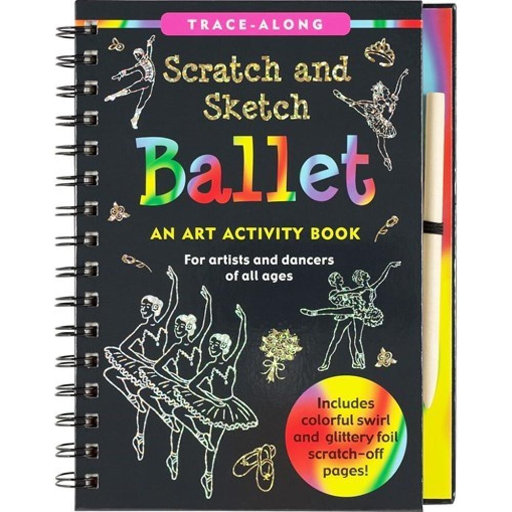 Peter Pauper Press Scratch & Sketch Ballet
