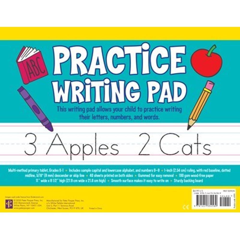 Peter Pauper Press Practice Writing Pad