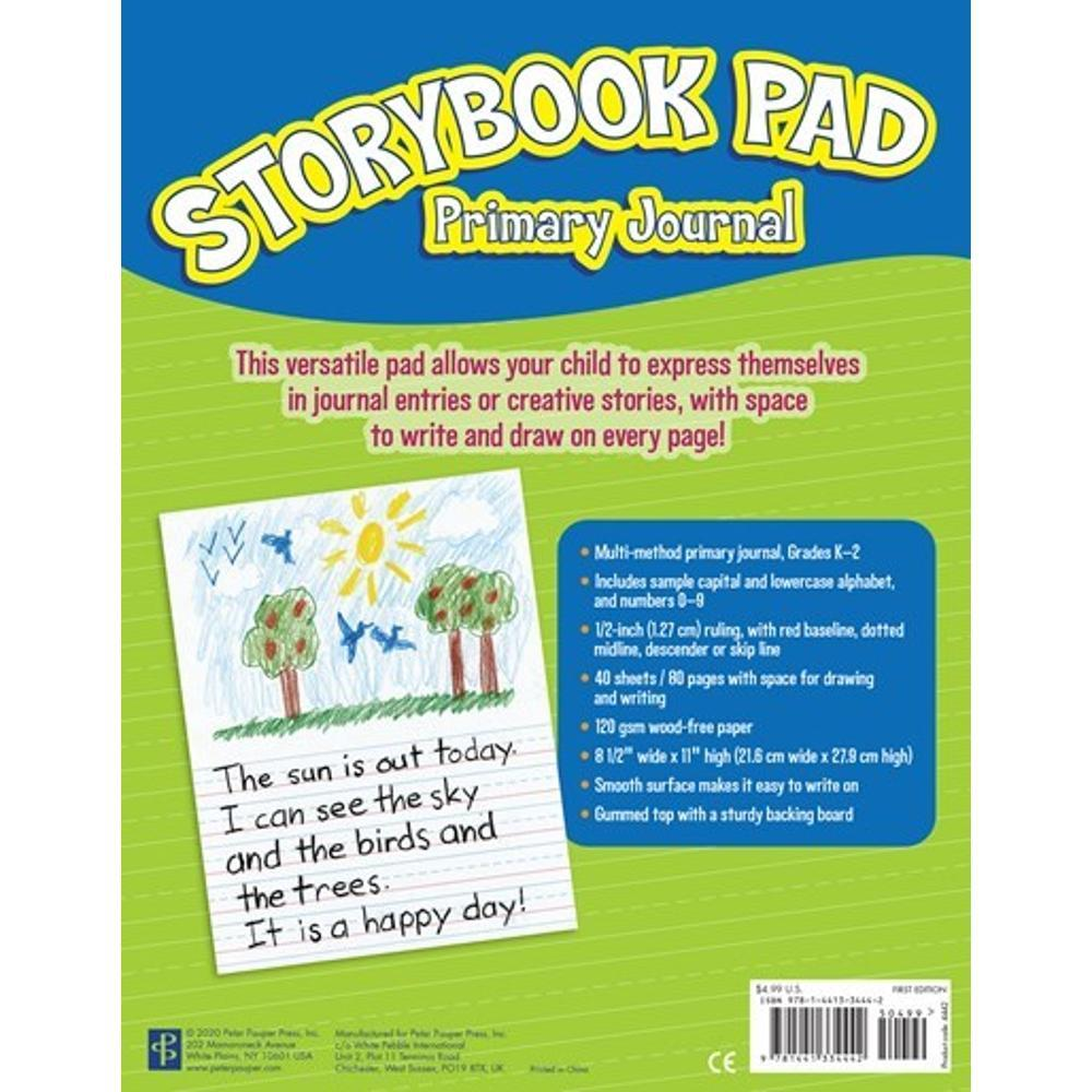 Peter Pauper Press Story Book Pad : Primary Journal