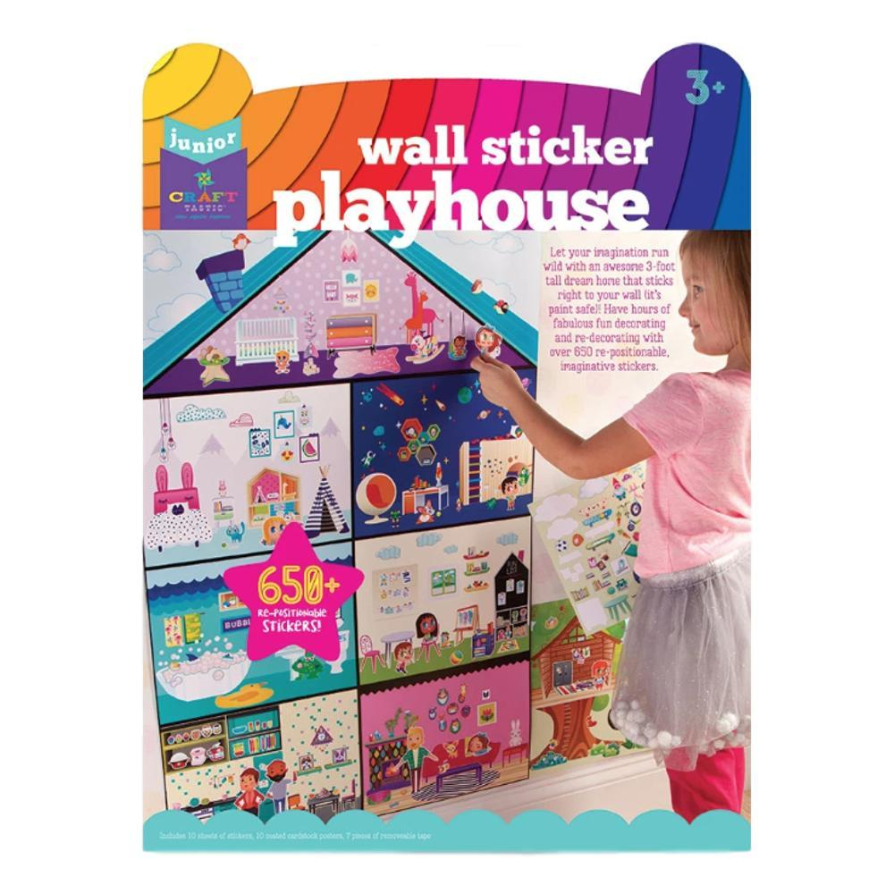 Ann Williams Craft- Tastic Jr Wall Sticker Playhouse