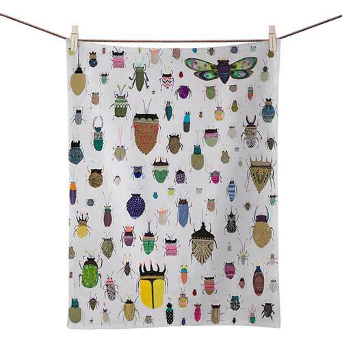 Greenbox Art Insect Friends Tea Towel