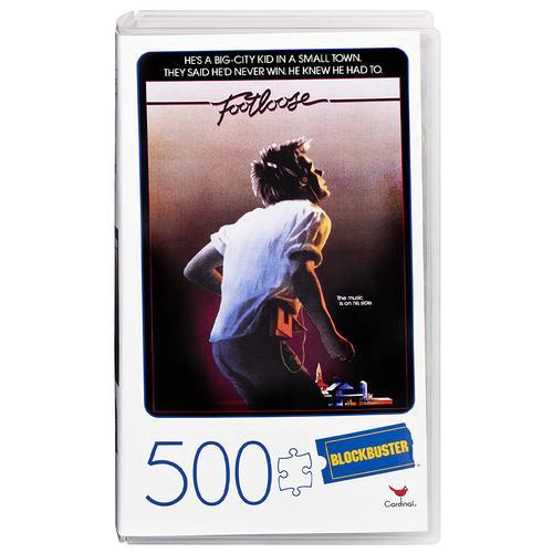Retro Blockbuster VHS Video Case 500 Piece Jigsaw Puzzle - Footloose