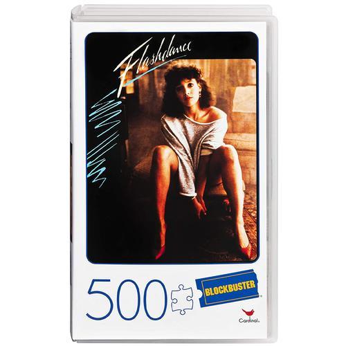 Retro Blockbuster VHS Video Case 500 Piece Jigsaw Puzzle Ð Flashdance