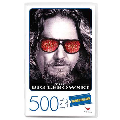 Retro Blockbuster VHS Video Case 500 Piece Jigsaw Puzzle Ð The Big Lebowski