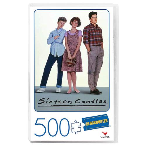 Retro Blockbuster VHS Video Case 500 Piece Jigsaw Puzzle Ð Sixteen Candles