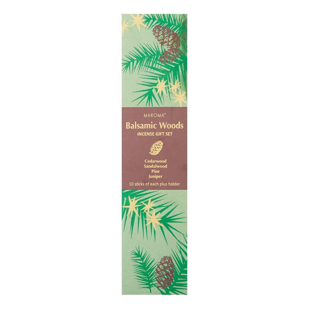 Maroma Balsamic Woods Incense Gift Set