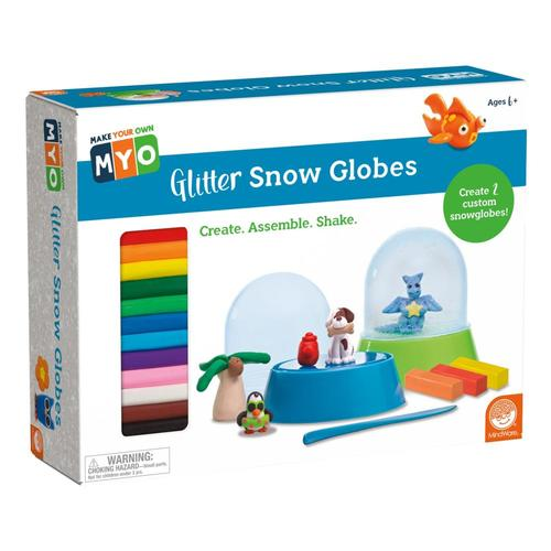 MindWare Make your Own Glitter Snow Globes