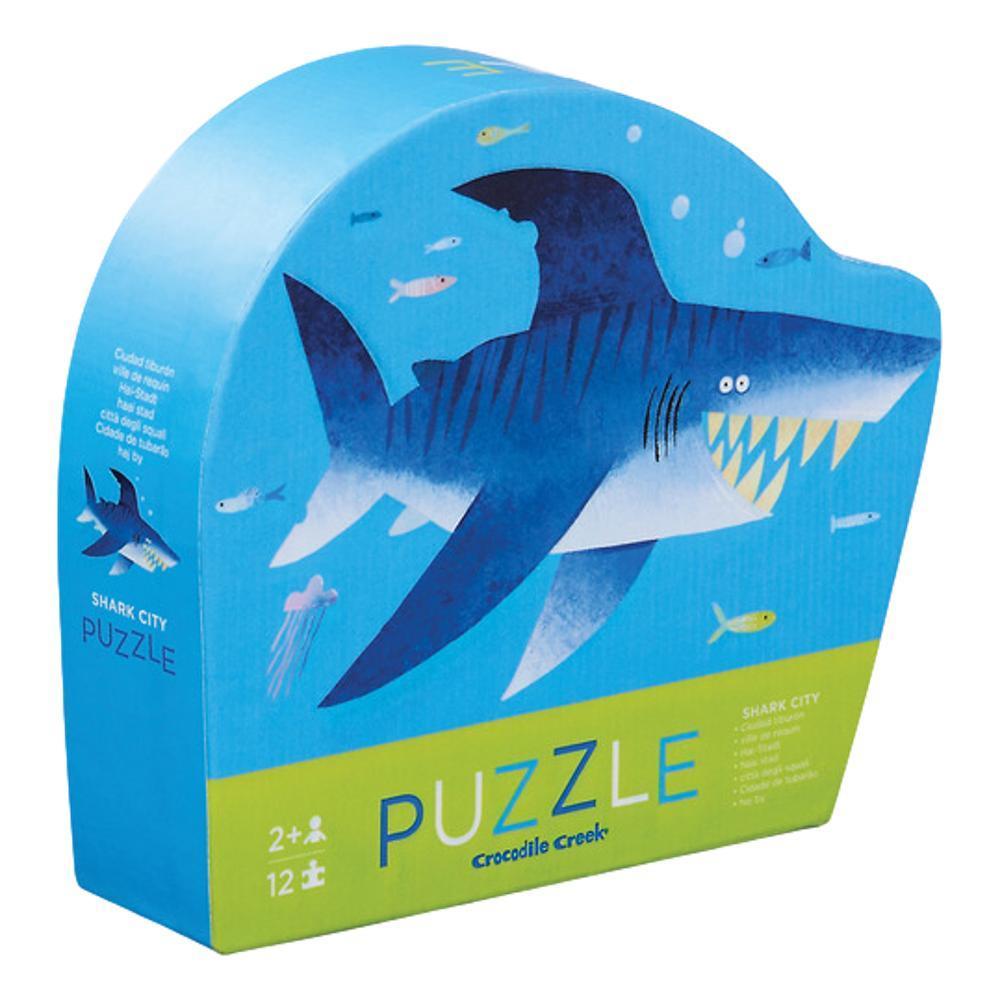 Crocodile Creek Shark City 12pc Mini Puzzle 12PC